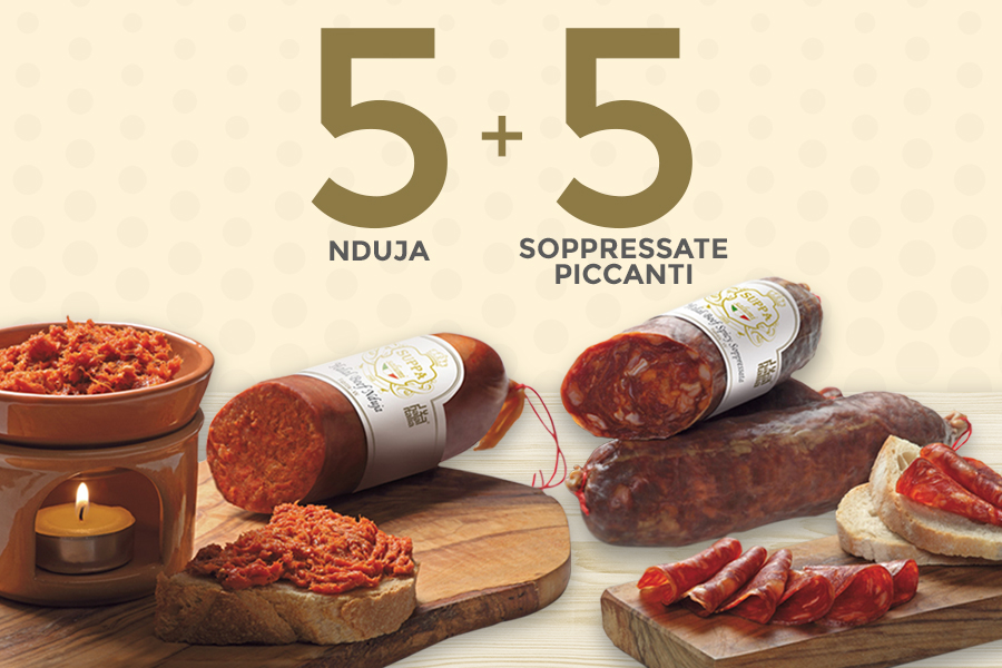 Nduja and Soppressate Spicy