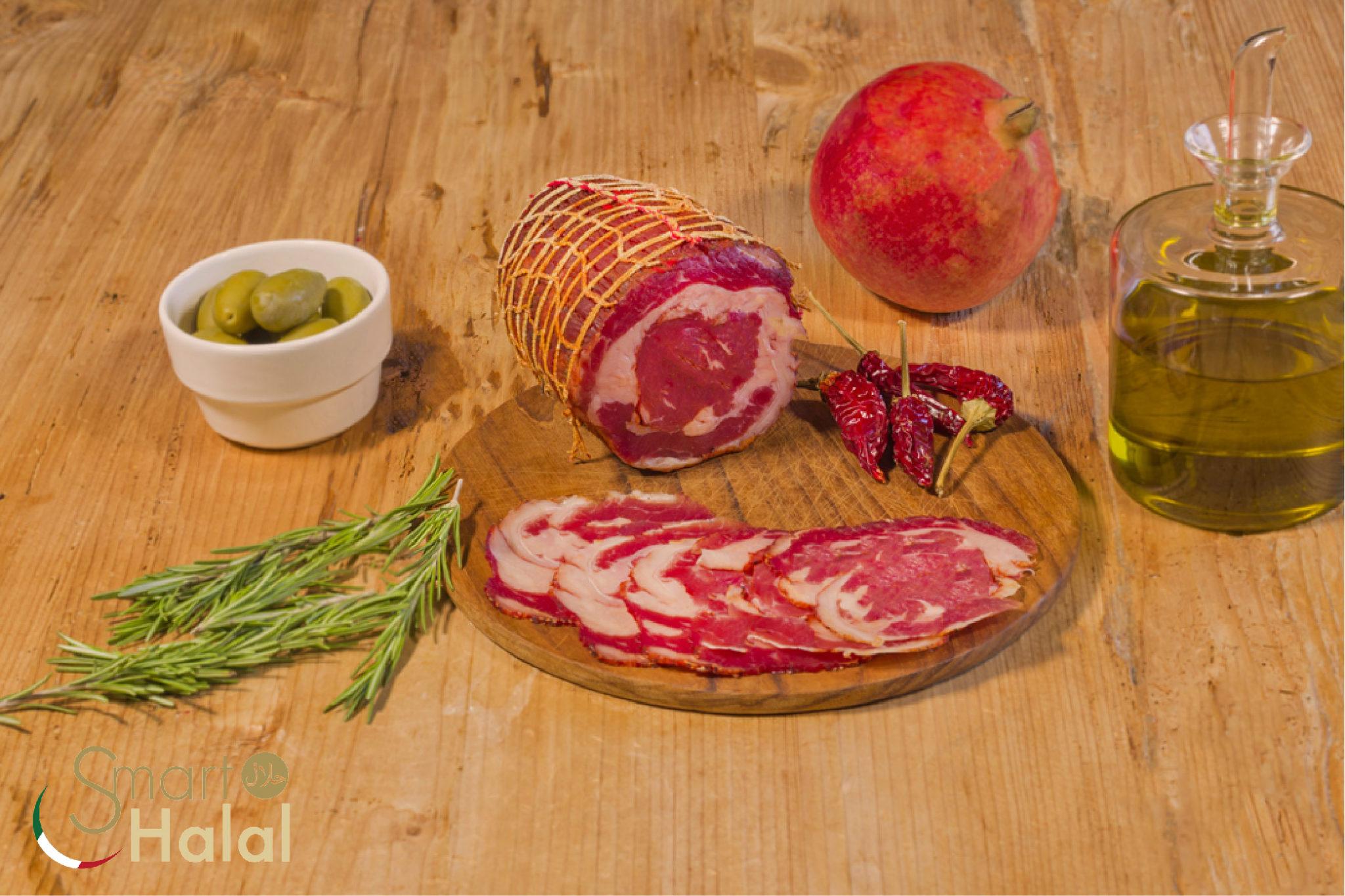 Pancetta Arrotolata Halal